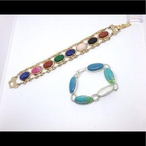 Vintage Scarab Bracelets